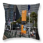 Circular Quay Sydney Throw Pillow