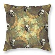 Circulo De Amigos Throw Pillow