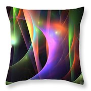 Circumference Throw Pillow by Kim Sy Ok