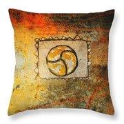 Circumvolve Throw Pillow by Kandy Hurley