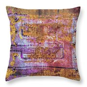 Circus Car S Throw Pillow