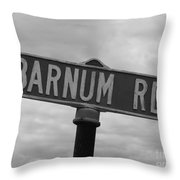 Circus Drive Throw Pillow
