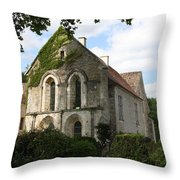 Cistercian Abbey Of Fontenay Throw Pillow