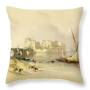 Citadel Of Sidon Throw Pillow