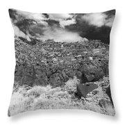 Citadel Pueblo West Wall Throw Pillow