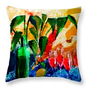 Citro Throw Pillow