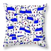 City 744 - Marucii Throw Pillow