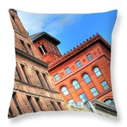 City Architecture Kcmo Throw Pillow