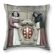 city arms of Gouda Throw Pillow