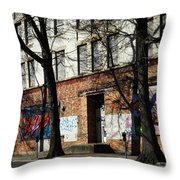 City Art Throw Pillow