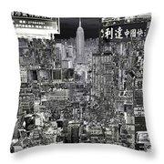 City Art United City  Throw Pillow