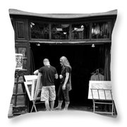 City - Baltimore Md - Tag Galleries  Throw Pillow
