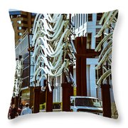 City Center-11 Throw Pillow