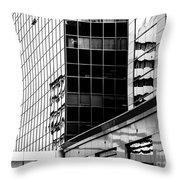 City Center-16 Throw Pillow