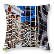 City Center-27 Throw Pillow