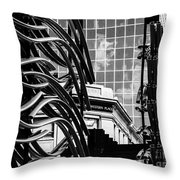 City Center-34 Throw Pillow