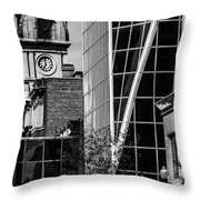 City Center-60 Throw Pillow