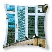 City Center-63 Throw Pillow