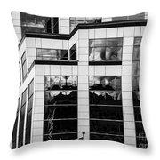 City Center-83 Throw Pillow