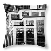 City Center-86 Throw Pillow
