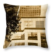 City Center-94 Throw Pillow