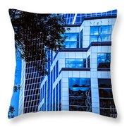 City Center-96 Throw Pillow