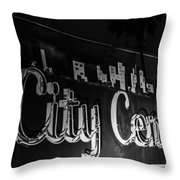 City Center Throw Pillow