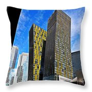 City Center Place Throw Pillow
