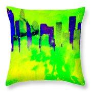 City Colors Throw Pillow