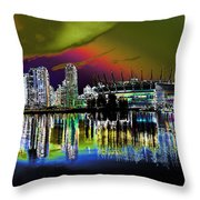 City Fantasy Throw Pillow