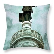 City Hall Billy Throw Pillow
