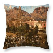 City Hall - Capetown 1917 Throw Pillow