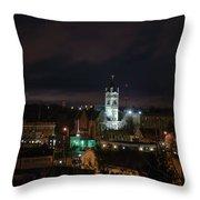 City Hall Centerpiece Throw Pillow