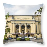 City Hall In Manila Philippines Throw Pillow