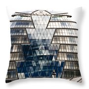 City Hall London Throw Pillow by Christi Kraft