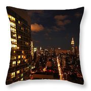 City Living Throw Pillow