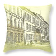 they say it is a living city but I don't know  Throw Pillow