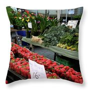 City Market - Manhattan Throw Pillow