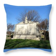 City Memorial Gainesville Texas Throw Pillow
