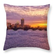 City Nights Throw Pillow by Joann Vitali