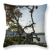 City Of Bremerton Waterfront Park Throw Pillow