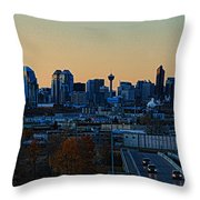 City Of Calgary Throw Pillow