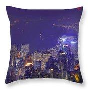 City Of Magic Throw Pillow
