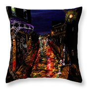 City Of Many Throw Pillow
