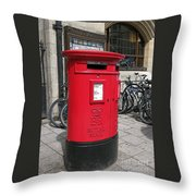 City Of Oxford Throw Pillow