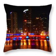 City Of Patriots Throw Pillow