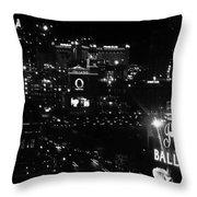 City Of Vegas 2008 Throw Pillow