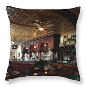 City Park Grill Throw Pillow