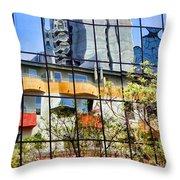 City Reflections By Diana Sainz Throw Pillow