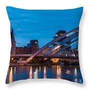City Reflections IIi Throw Pillow